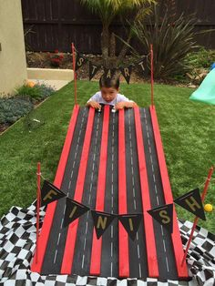 Trendy Ideas For Monster Truck Birthday Party Games Hot Wheels Party, Festa Hot Wheels, Hot Wheels Birthday, Race Car Birthday, Race Car Party, Disney Cars Birthday, 2nd Birthday, Disney Cars Party, Birthday Ideas