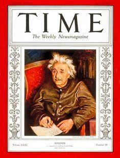 TIME Magazine Cover: Albert Einstein - Apr. 4, 1938 - Albert Einstein - Physicists - Science & Technology