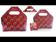 new design bag is very beautiful from coffee pack part 1 Coffee Pack, Origami And Quilling, Newspaper Crafts, Candy Wrappers, Candy Bags, Youtube, Recycling, Weaving, Make It Yourself