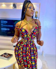 African Party Dresses, Short African Dresses, Latest African Fashion Dresses, African Print Dresses, African Print Fashion, Africa Fashion, African Fashion Traditional, Looks Chic, African Attire