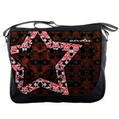Royal Star Paisley Messenger Bag by iFondu | FonduLifeStyle - Bags & Purses on ArtFire