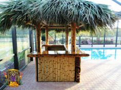 Our Portfolio - Big Kahuna Tiki Huts Tiki Bar Stools, Jungle House, Tiki Hut, Bbq Area, New England, Gazebo, The Neighbourhood, Palm, Florida