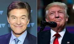 #Dr Oz to interview Donald Trump on his health - Daily Mail: Daily Mail Dr Oz to interview Donald Trump on his health Daily Mail To date…