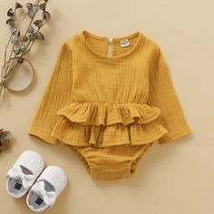 * Bottom snap * Soft and comfy * Material: Cotton * Machine wash, tumble dry * Imported Kids Clothes Patterns, Baby Dress Patterns, Clothing Patterns, Baby Girl Fashion, Kids Fashion, Cute Baby Clothes, Babies Clothes, Boy Babies, Babies Stuff