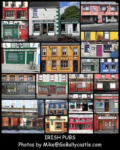 Irish Pubs Collage - Click image above to purchase. $20