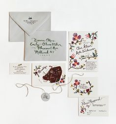 amazing stitched invites and calligraphy inspiration Rifle Paper Co.