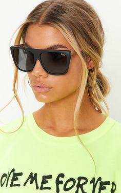 c244887af3 QUAY AUSTRALIA Black OTL II Oversized Sunglasses