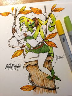 Project «InkTober 2016» 31 Days = 31 Drawings