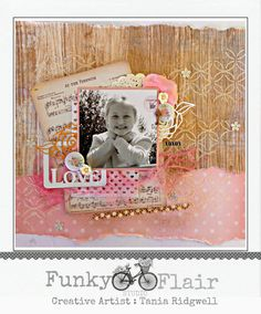 Tania's Creative Space - Funky Flair Studio DT Layout