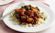This is great for making ahead as the flavours have time to mellow. Lamb Tagine Slow Cooker, Lamb Tagine Recipe, Tagine Cooking, Lamb Recipes, Meat Recipes, Slow Cooker Recipes, Cooking Recipes, Bbc Recipes, Sunday Recipes