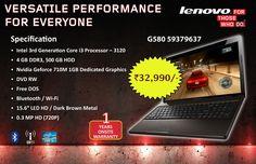 Lenovo g580 best deal Hdd