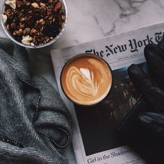 This morning's #dailycortado at @lafayette380. Featuring my new scarf (love it!) from @alterbrooklyn.