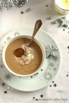 Velouté de châtaignes {Noël} - La gourmandise selon Angie