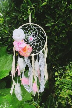 #dreamcatcher #flowers #decor #handmade #handicraft #nyamasworld