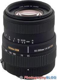 Sigma 55-200mm f4-5.6