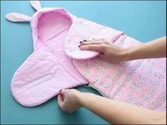 Конверт (одеяло-трансформер) на выписку новорожденного своими руками. Мастер-класс. - YouTube