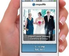 Ditch the pricey photographer and try the Snapable app! http://weddingrepublic.com/blog/money-saving-tips-for-your-wedding/