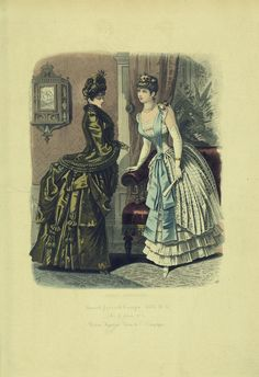 1885 Russian Fashions
