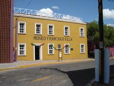 Museo Francisco Villa, en este museo se eternizan los últimos acontecimientos de la azarosa vida de Francisco Villa mediante objetos originales y fotografías.