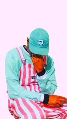 Wallpapers tyler, the creator wallpaper Music Aesthetic, Pink Aesthetic, Aesthetic Iphone Wallpaper, Aesthetic Wallpapers, Golf Tyler, Tyler The Creator Wallpaper, Im Falling In Love, Cute Rappers, Color Of The Year