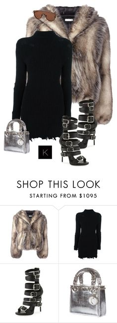 """Untitled #4067"" by kimberlythestylist ❤ liked on Polyvore featuring J.W. Anderson, adidas Originals, Giuseppe Zanotti, Christian Dior and Gentle Monster"