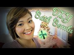 ▶ DIY Bath Bombs | Holiday Gift Ideas | Lazy Girls' Guide to Beauty - YouTube I want to try this.