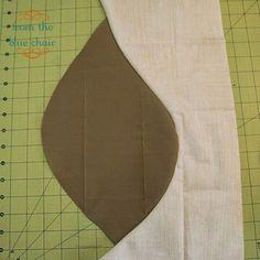 quilt tutorial - curved improv piecing