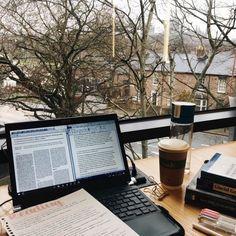 College Motivation, Study Motivation, Homework Motivation, Studyblr, Coffee Study, College Aesthetic, College Library, Study College, College Books