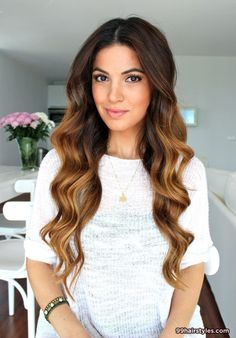 beautiful long wavy ombre hairstyle idea - 99 Hairstyles Ideas