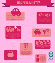 Tips de Seguridad para #mujeres