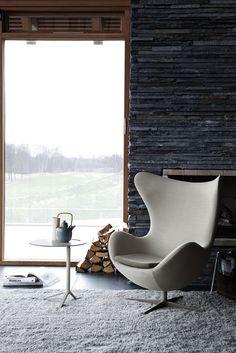 Gray walls #rockface #design