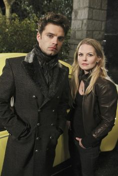 """Will they still live happily ever after? Jennifer Morrison and Sebastian Stan (""""Once Upon a Time's"""" Emma Swan and Mad Hatter) ended a real-life romance (the show's Snow White and Prince Charming, Ginnifer Goodwin and Josh Dallas, are to wed). See Stan in """"Captain America 2"""" in '14!"""