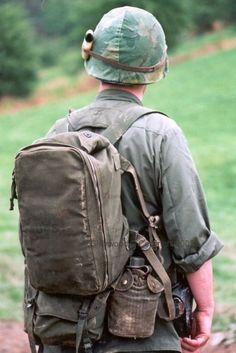 Combat Army Military Rucksack Day Pack Daypack Travel Bag 45L Surplus Digital
