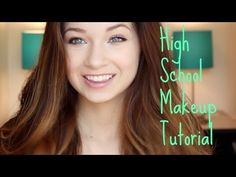 Everyday High School Makeup Routine! Her makeup is so natural ...