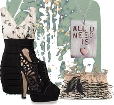 """Fly Away"" by midnight-fire-love on Polyvore"
