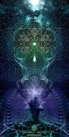 Archangel Uriel ~ Ascension Update Report: Gold Grid Harmonic Resonance, Phase One, Griding Sacred Spaces - Trend Lilie Tattoo 2019 Sacred Geometry Art, Sacred Art, Geometry Tattoo, Art Fractal, Art Visionnaire, Archangel Uriel, Tachisme, Fibonacci Spiral, Visionary Art