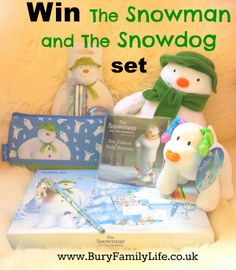 win the snowman and snowdog set with bury family life! Christmas Time, Christmas Gifts, Xmas, Christmas Ornaments, Snowman And The Snowdog, Perfect For Me, New Pins, Family Life, Activities For Kids