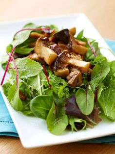 【ELLE a table】焼ききのこのサラダレシピ|エル・オンライン
