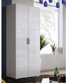 017ba57ea86 Killeen A - free standing white small wardrobe