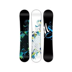 Never Summer Infinity Rocker/Camber Snowboard - Women's ❤ liked on Polyvore