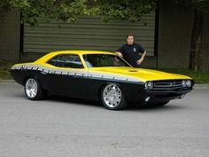 Foose Design '70 Dodge Challenger '2006 #dodgeclassiccars #musclecars