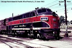 rock island 1331 | 98B, FTB, was built in April 1944, #1847, as 98A. It was renumbered ...