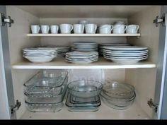 Organizando cozinha e guarda-roupa - YouTube