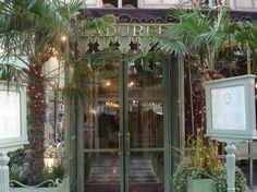 Laduree - a must when in Paris.  I've also found a shop in Tokyo.