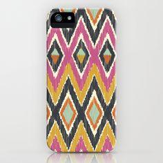 Sequoyah Tribal Ikat iPhone & iPod Case