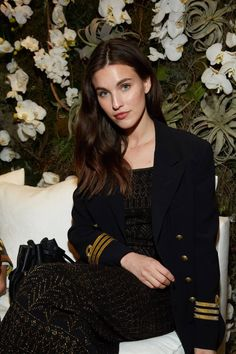 Rainey Qualley at the Ralph Lauren February 2017 Fashion Show #NYFW