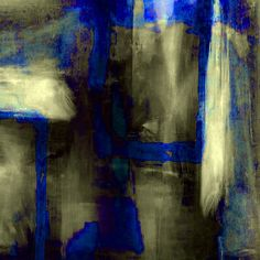 Blue #5 (Homage to Klein). David Lewis-Baker