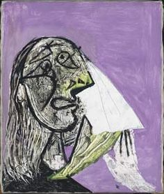 picasso in paris | picasso spanish 1881 1973 worked in france 1904 73 weeping woman paris ...
