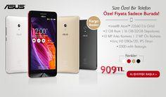 Asus cep telefonu indirimli özel fiyatıyla Evimdemarket.net'te