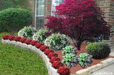 http://deptrai.co/wp-content/uploads/2017/07/front-door-garden-design-breathtaking-entrance-landscape-lee39s-4.jpg #LandscapeWithRocks